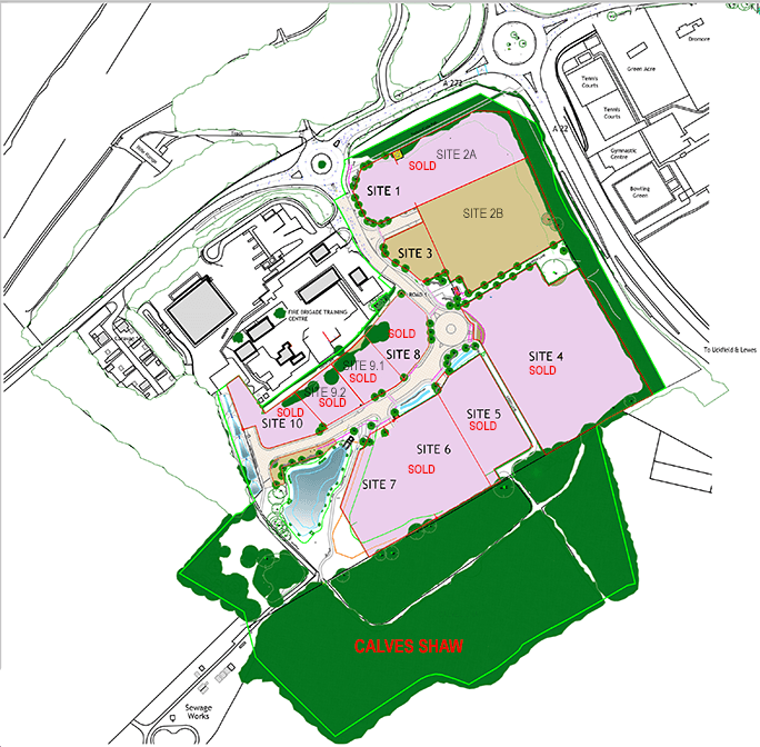 Ashdown Business Park Site Plan